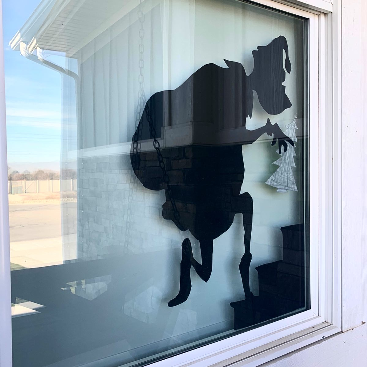 Grinch Window Silhouette Tutorial Honey Built Home